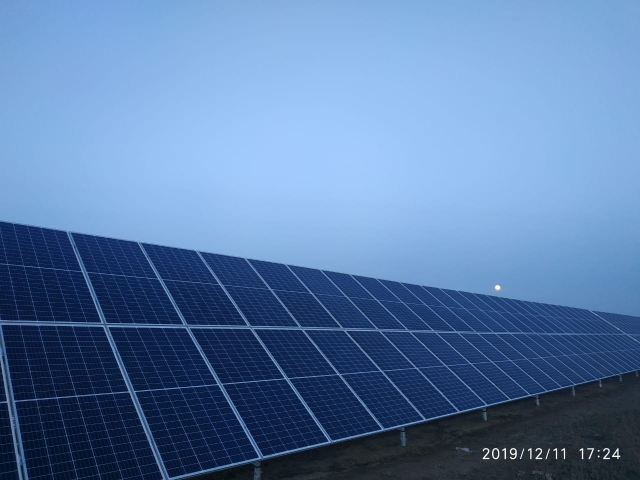 "Construction of the new ""Kaskelen"" Solar Power Plant with a capacity of 50MW in Almaty Region."