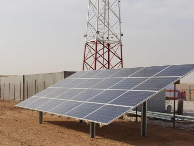 Contractor in a large-scale 40 MW solar energy production Gulshat