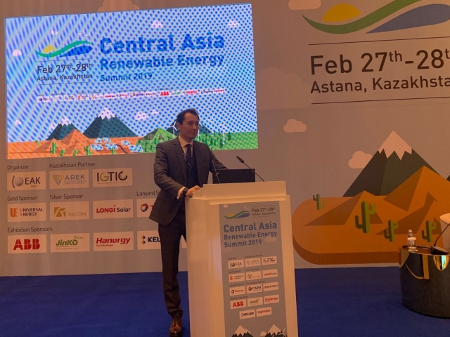 GSA Group CEO & Founder visited to the 1st Central Asian Renewable Energy Summit in Astana city during 27-28 of February